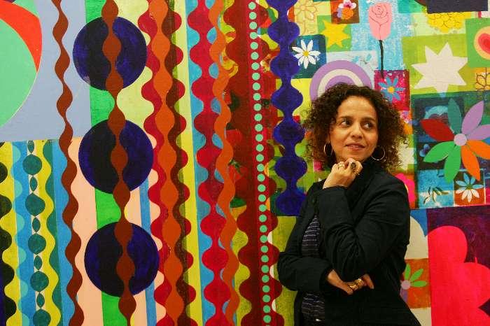 Beatriz Milhazes e a obra mais cara do mundo
