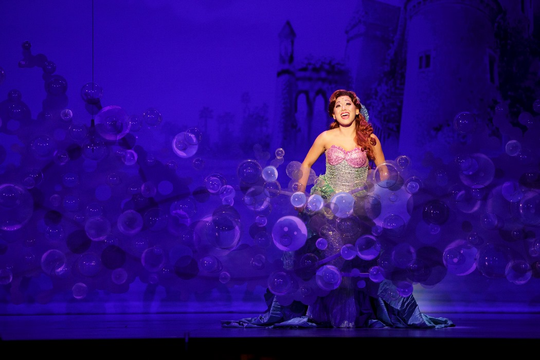 Espetáculo da Disney Little Mermaid em Fort Lauderdale